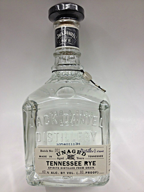 Jack Daniel's Unaged Tennessee Rye Whiskey