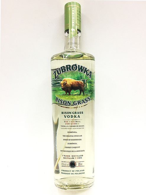 Zubrowka Zu Bison Grass Vodka