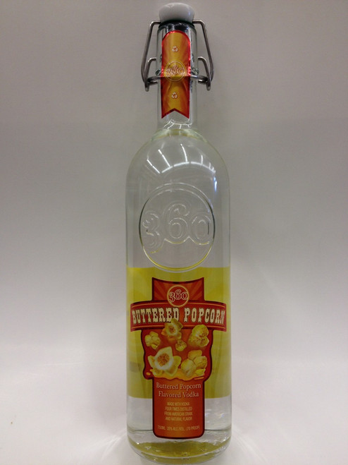 360 Buttered Popcorn Vodka