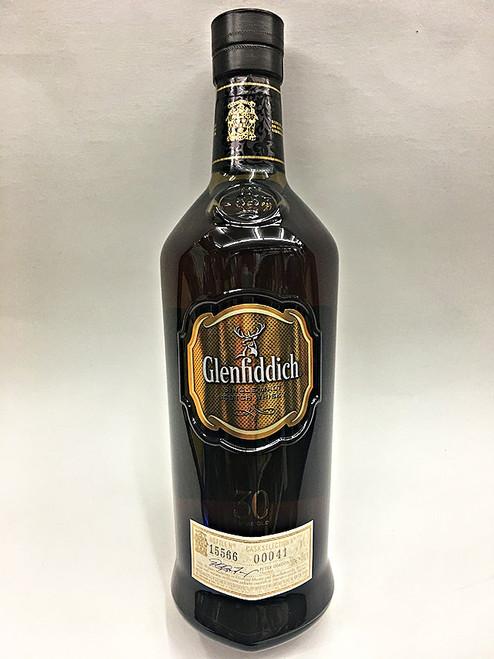 Glenfiddich 30 Year Old Malt Scotch Whisky