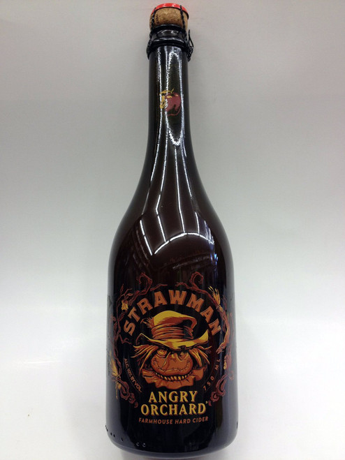 Angry Orchard Strawman Hard Cider