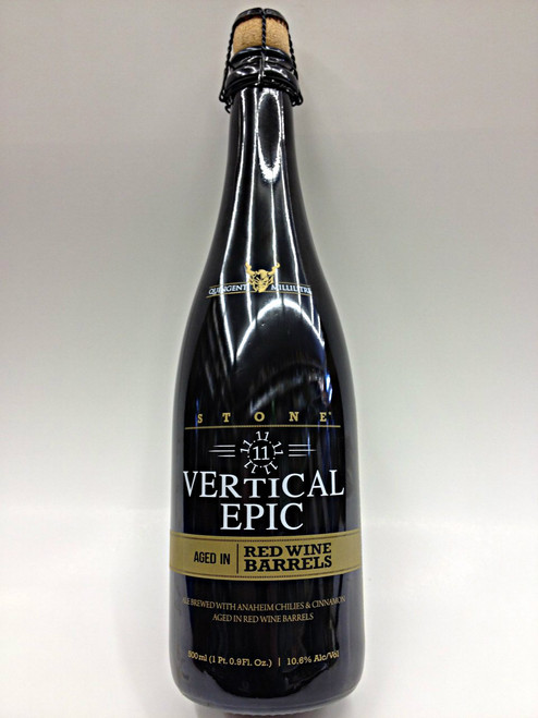 Stone Vertical Epic 11.11.11 Aged Red Wine Barrels