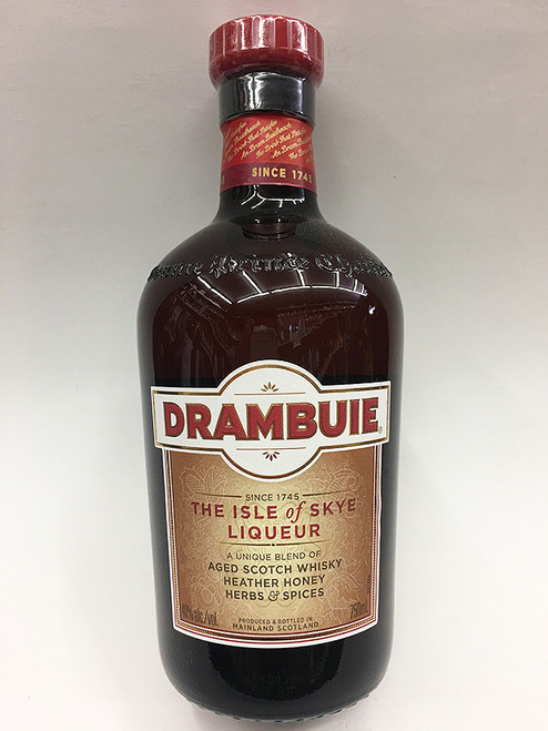 Drambuie Honey Flavored Whiskey Liqueur