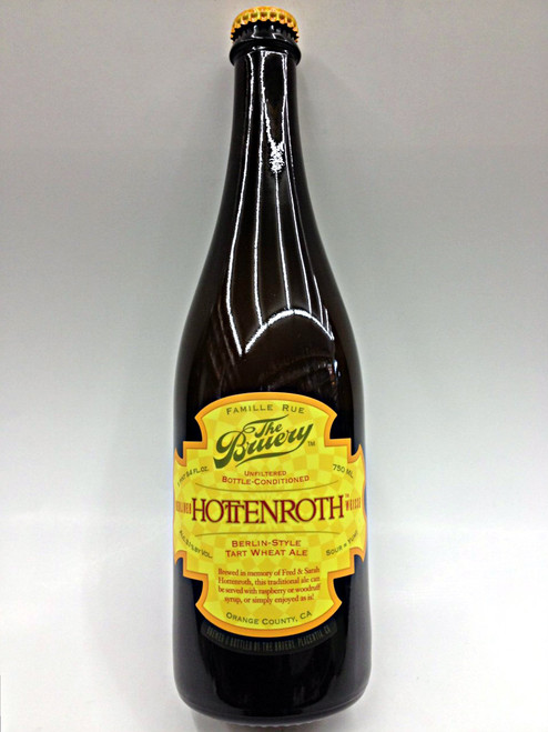 The Bruery Hottenroth Weisse