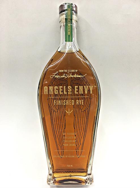 Angels Envy Rye Whiskey Finished In Caribbean Rum Casks