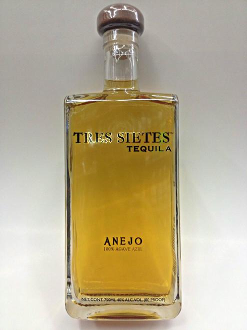 Tres Sietes Anejo Tequila