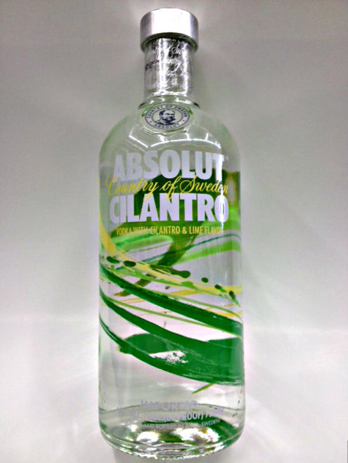Absolut Cilantro Vodka 750ml