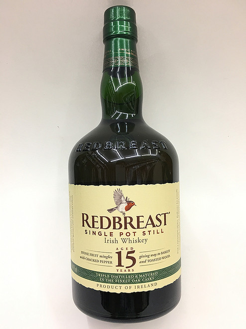 Redbreast Single Pot Still 15 Year Old