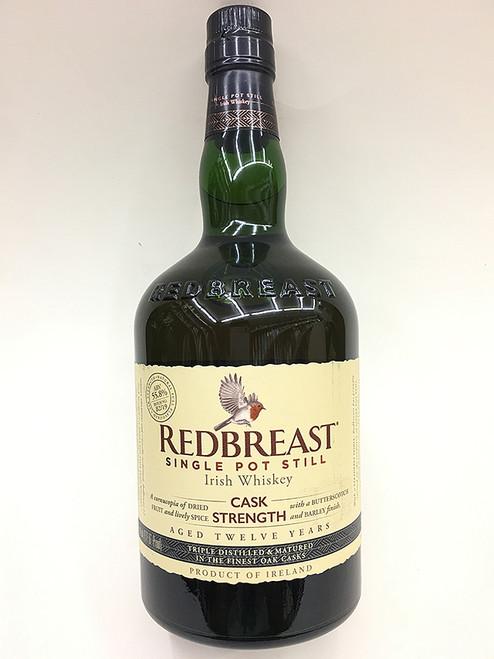 Redbreast 12 Year Old Cask Strength Irish Whiskey