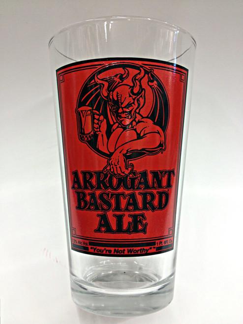 Stemware Glass Stone Arrogant Bastard