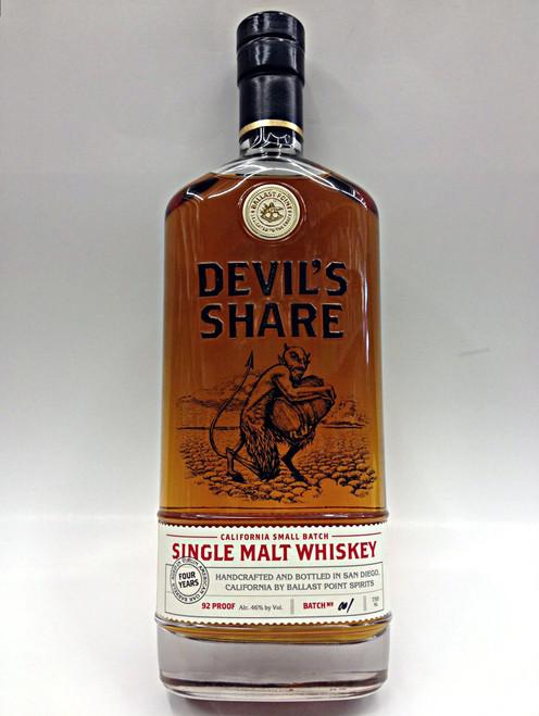 Ballast Point Devil's Share Whiskey