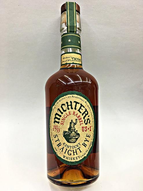 Michter's Single Barrel Straight Rye Whiskey US 1