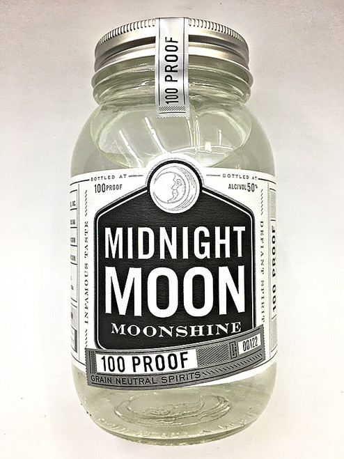 Midnight Moon White Lightning 100 Proof