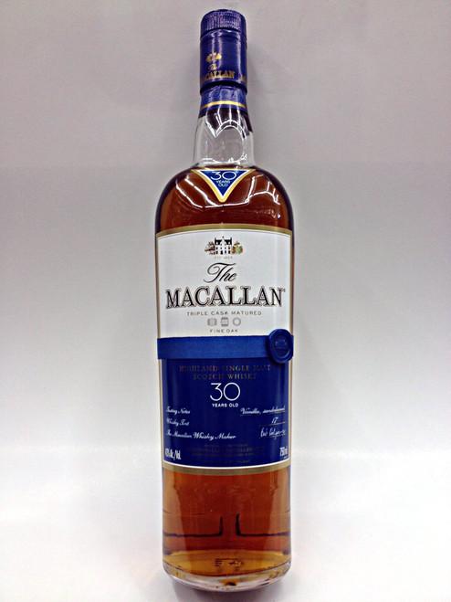 Macallan 30 Year Old Fine Oak Cask