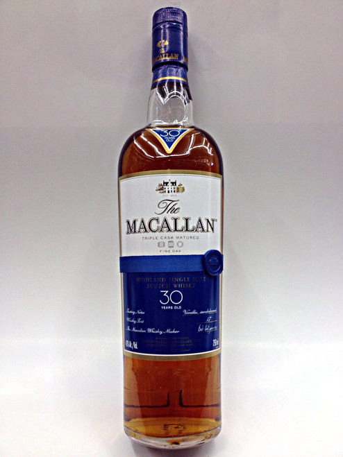 Macallan 30 Year Old Fine Oak Cask