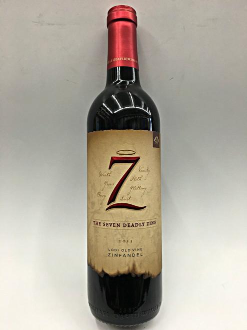 Seven 7 Deadly Zins Zinfandel