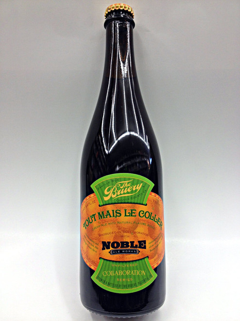 The Bruery & Noble Ale Tout Mais Le Coller