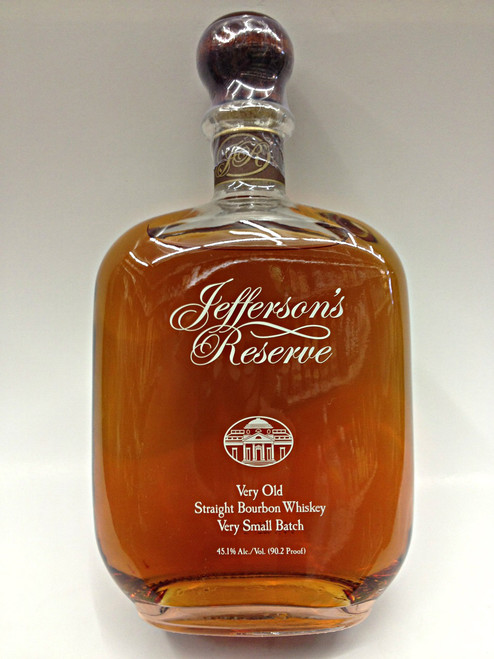 Jefferson's Reserve Straight Bourbon Very Old Whiskey | Quality ...