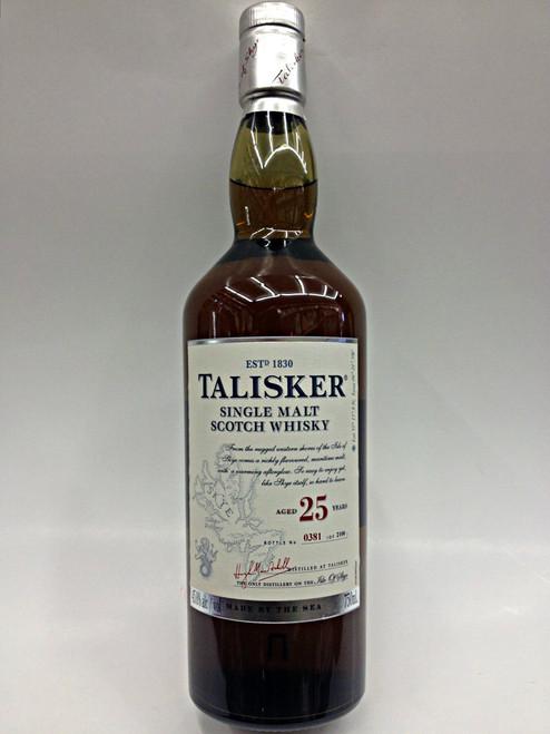 Talisker 25 Year Scotch Whisky
