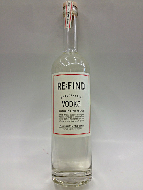 Re:Find Handcrafted Vodka