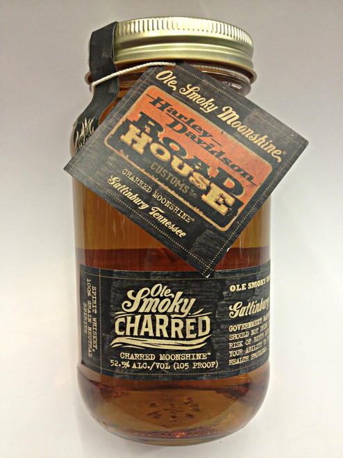 Ole Smoky Charred Harley Davidson Edition Moonshine