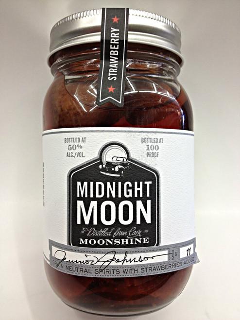 Midnight Moon Strawberry Moonshine 375ml