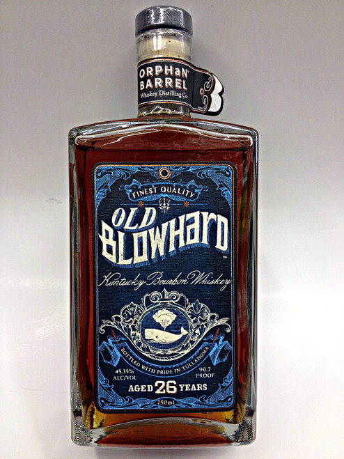Old Blowhard 26 Year Bourbon Whiskey