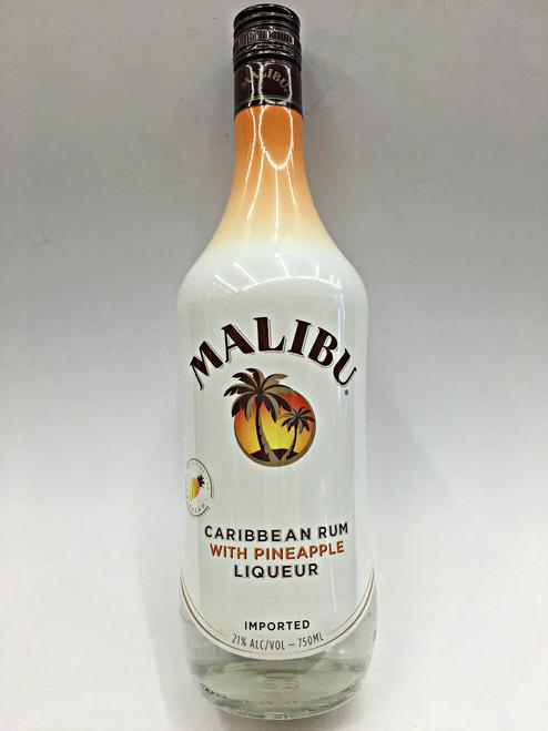 Malibu Caribbean Rum With Pineapple