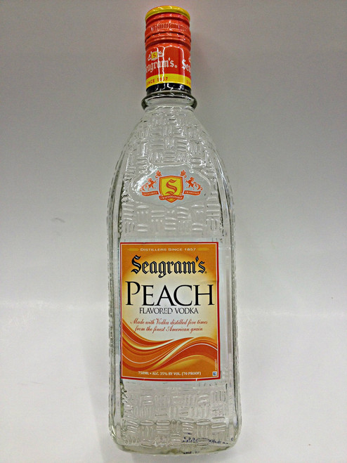 Seagram's Vodka Peach