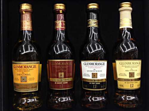 Glenmorangie Pioneering 4 Pack 100ml bottles