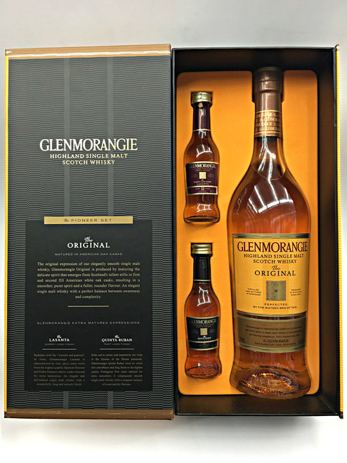 Glenmorangie 10 Year Discovery Pack + 2 Nips