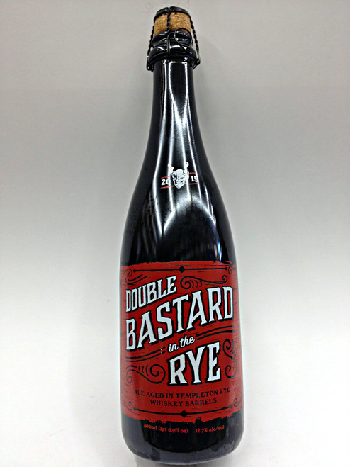 Stone Bastard in the Rye Craft Beer