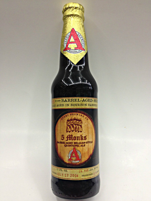 Avery 5 Monks Quintupel Ale