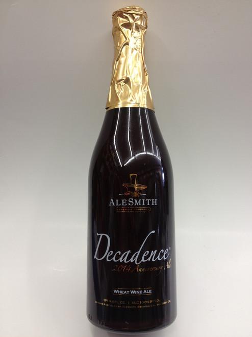 AleSmith Decadence 2014 Wheat Wine Beer