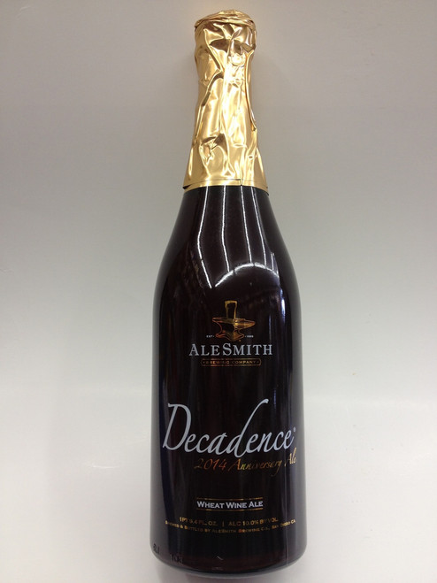 AleSmith Decadence 2014 Wheat Wine Beer