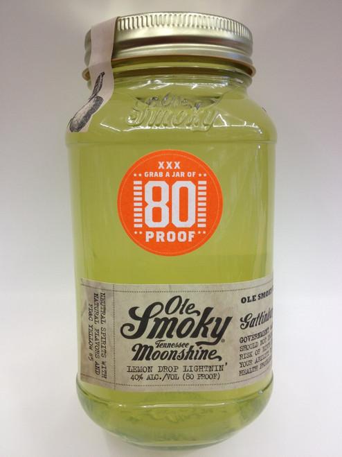 Ole Smoky White Lightnin' Lemon Drop Moonshine
