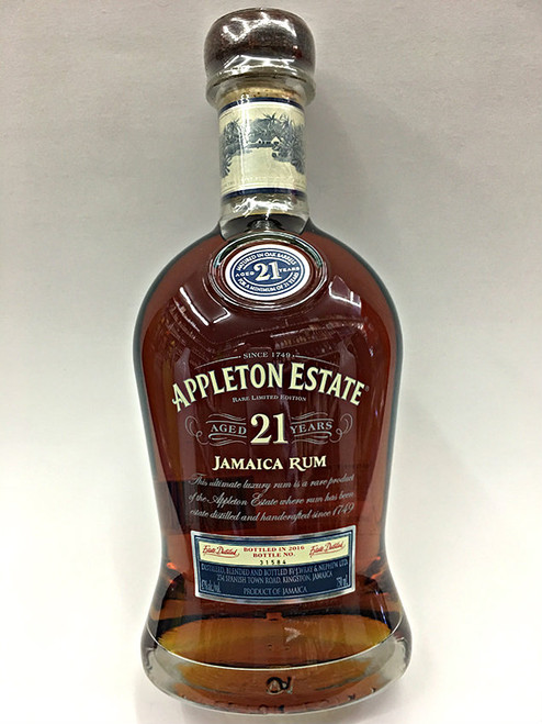 Appleton Estate 21 Year Jamaican Rum