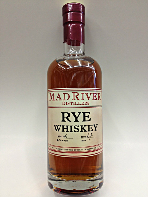 Mad River Rye Whisky