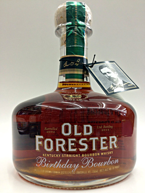 Old Forester Limited Edition Single Malt Birthday