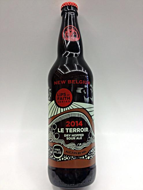 New Belgium Le Terroir Dry Hopped Sour Ale