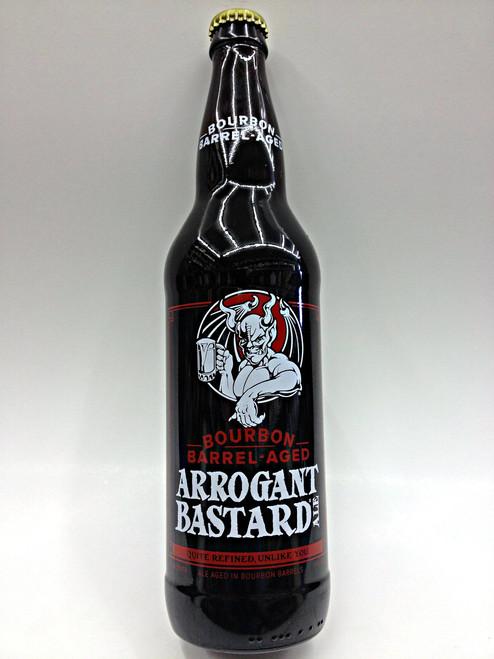 Stone Bourbon Barrel Aged Arrogant Bastard Ale