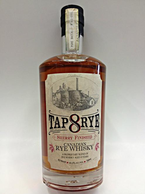 Tap 8 Rye Sherry Canadian Whiskey