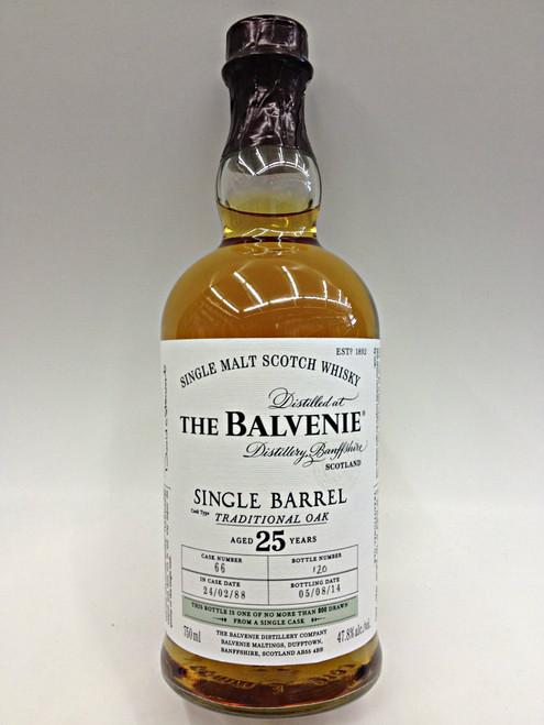 The Balvenie Single Barrel 25 Year Malt Whisky
