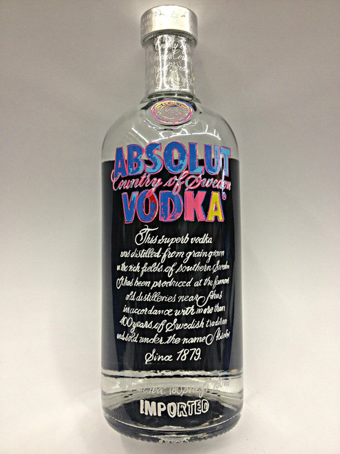 Absolut Andy Warhol Vodka Limited Edition