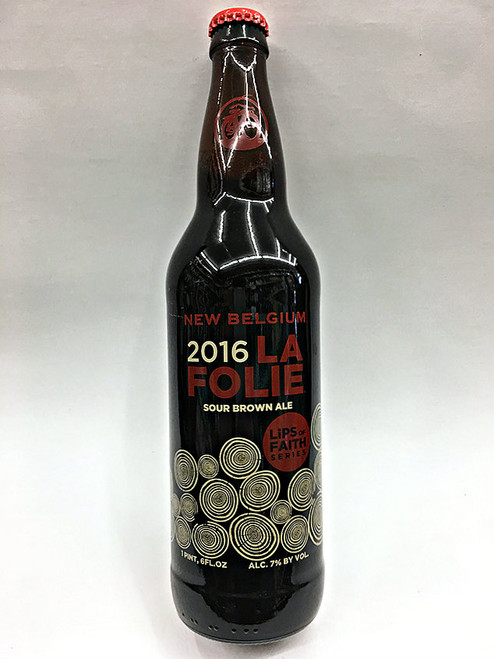 New Belgium La Folie KRIEK LIPS OF FAITH 2016