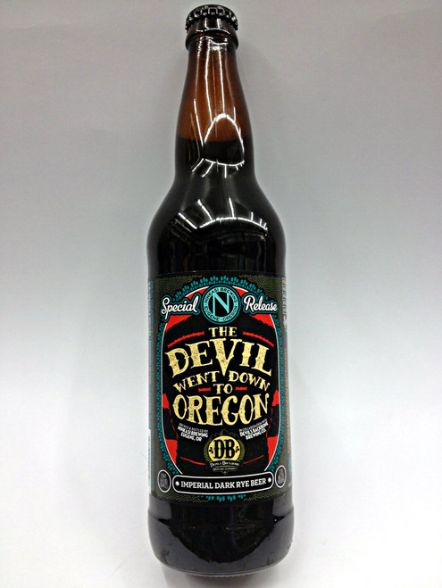 Ninkasi Devil Went Down To Oregon Imperial Dark Rye