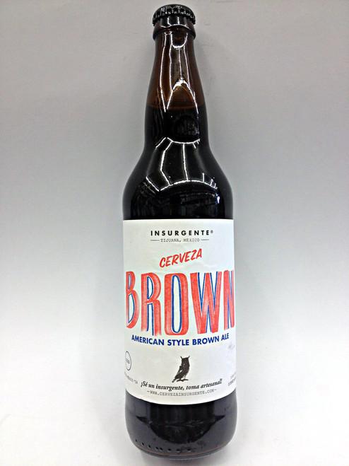 Insurgente Cerveza Brown