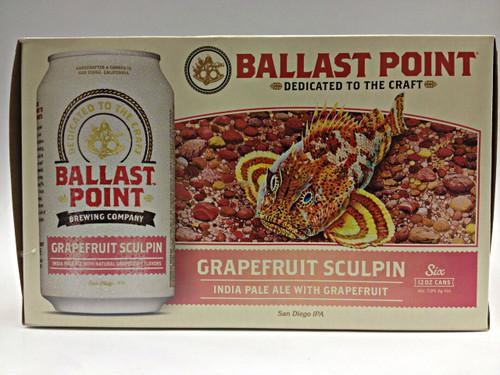 Ballast Point's Grapefruit Sculpin IPA