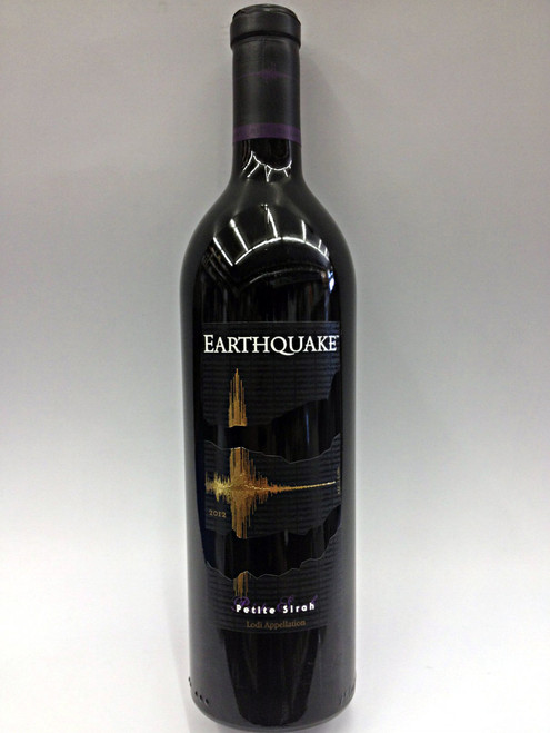 EarthQuake Petite Sirah 750ml