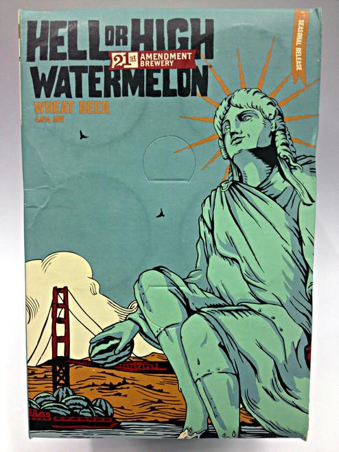 21st Amendment Hell or High Watermelon Wheat